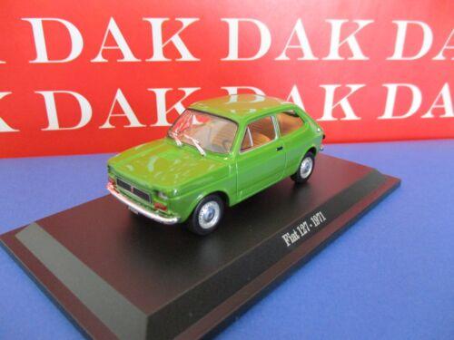 Die cast 1//43 Modellino Auto Fiat 127 1971 by Norev
