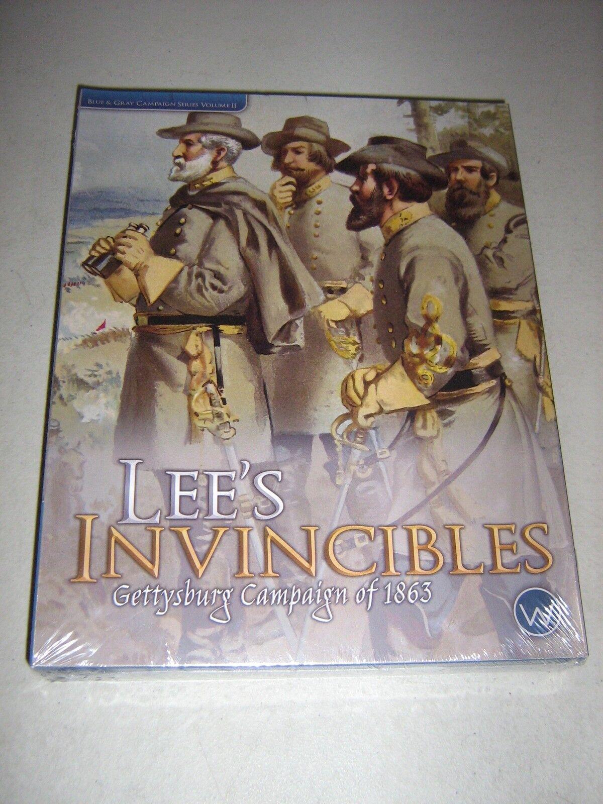 Lees unbesiegbaren  in gettysburg kampagne 1863 (neu)