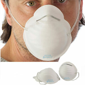 6 Safety Disposable Masks Face Details Mask Non-toxic Molded Cleaning Dust About Respirator