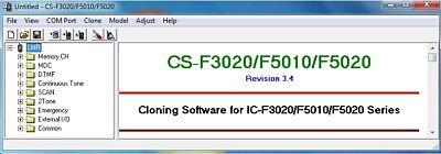 Icom CS-F3020/F5010/F5020 v3 4 for IC-F3020/F4020&F5010/F6010&F5020/F6020    eBay