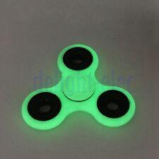 Fluorescenza a mano Spinner Fidget Tri-Spinner 3D EDC giocattolo fuoco Glow DB