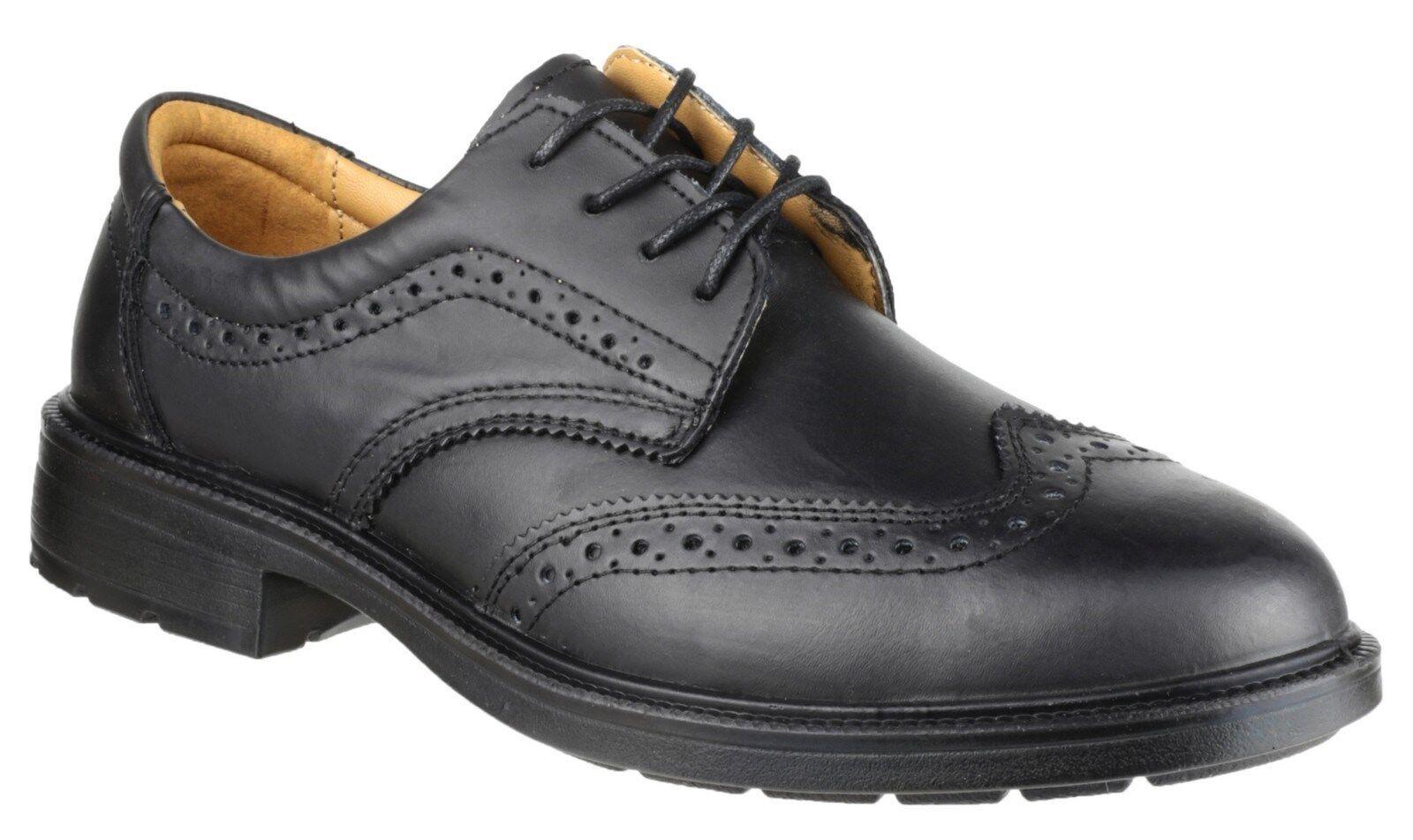 Amblers FS44 Safety shoes Mens Smart Steel Toe Cap Industrial Work Brogues