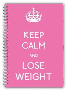 diet diary a5 slimming food tracker diet weight loss planner keep