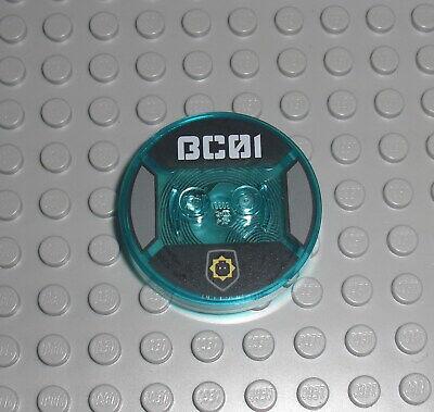 Toytag Disc Ninjago 18603 6122895 71217 Toy Tag für Zane LEGO Dimensions