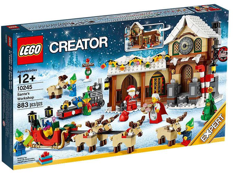 LEGO CREATOR Santas lavoronegozio  10245 Nuovo & in pensione  negozio di moda in vendita