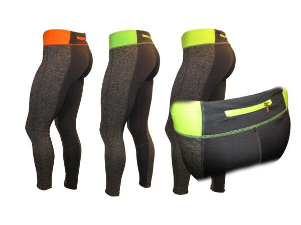 Damen Jogginghose Sporthose mit Tasche Fitnesshose Fahrrad Hose Trainingshose