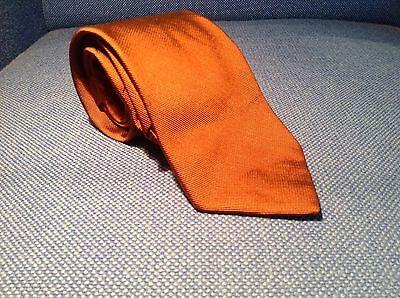 Luciano Barbera 100% Woven Silk Necktie - SOLID BRONZE