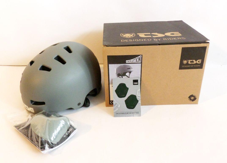 TSG 75046 Helm Evolution Solid Farbe Flat Coal Coal Coal L XL Skihelm grau Snowboard GO8 1150e0