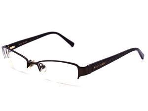 493b58cd45879 Kate Spade Women s Eyeglasses Mazie 0RC9 Brown Half Rim Frame Italy ...