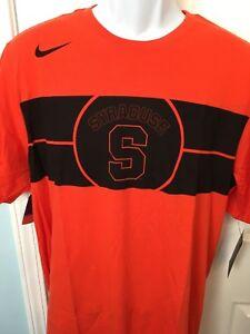 Syracuse Orange Men S Nike Basketball Logo Tri Blend T Shirt Xl