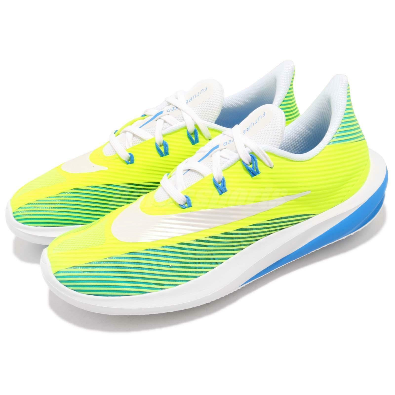 Nike Future Speed GS Volt White Blue Kid Youth Women Running Shoes AH3431-700