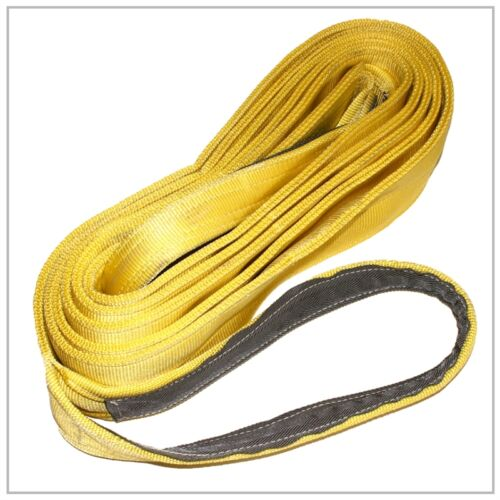"""6/"""" x 26/' Double Ply Recovery Strap Heavy Duty TOW AUTO FIREFIGHTER LIFT PULL"""