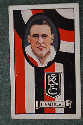 ST.KILDA - H. MATTHEWS -1930's VINTAGE ALLENS CARD.