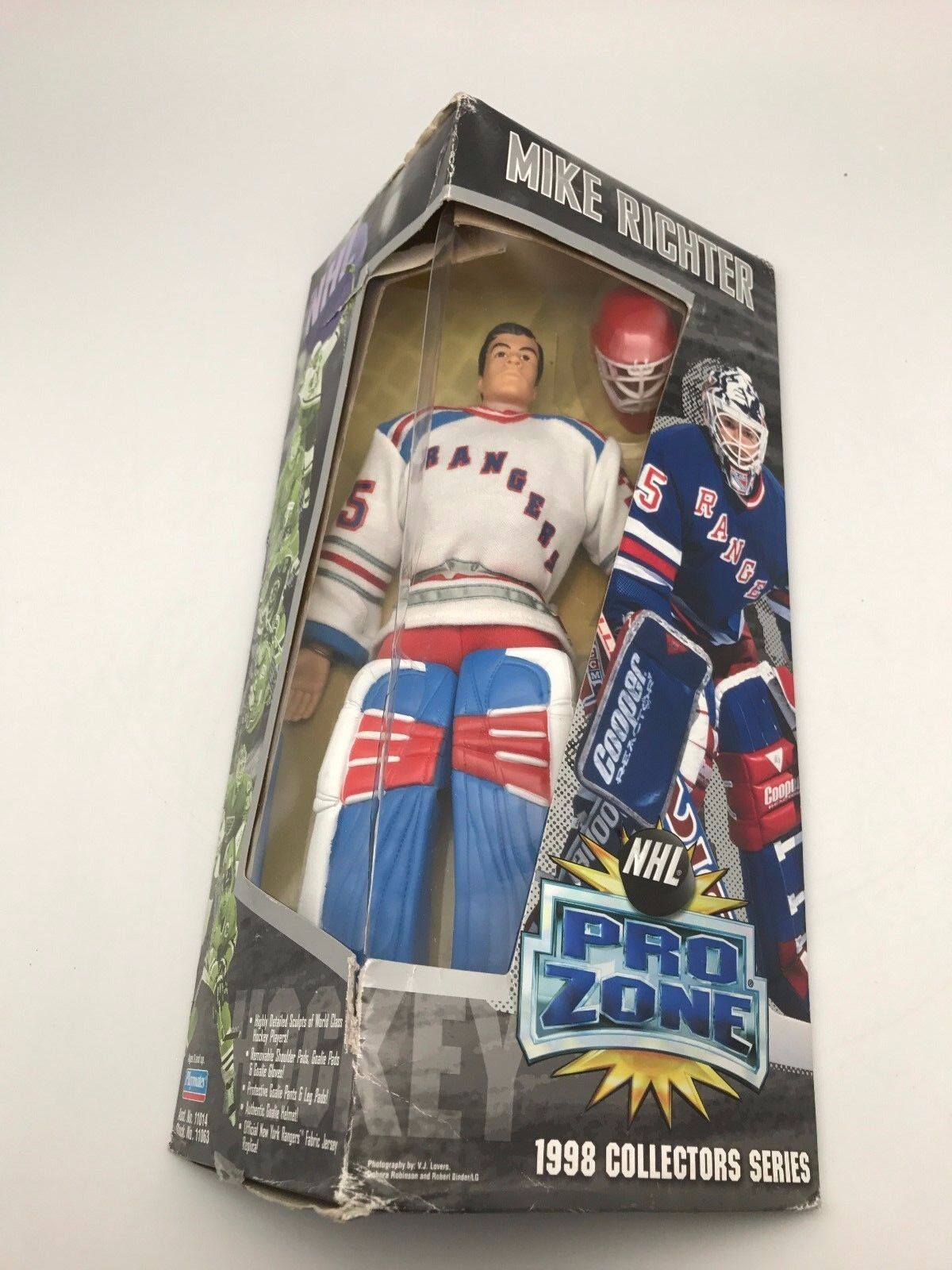 NHL PRO ZONE New York Rangers MIKE RICHTER 1998 Collectors Series