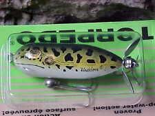 Heddon Tiny Torpedo Topwater Lure X0360 Natural Leopard Frog Color