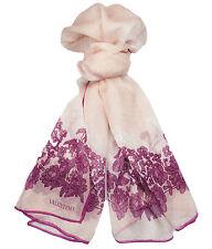 Valentino VS7020 6796 Col.4 Pink Floral Silk Ladies Scarves