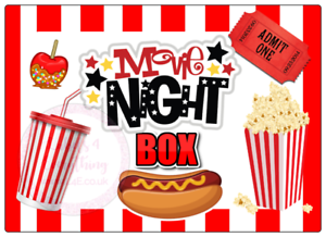 Movie-Night-Large-Rectangle-Stickers-Letterbox-Birthday-Party-Bag-Sweet-Box