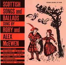 Rory and Alex McEwen - Scottish Songs and Ballads [New CD]