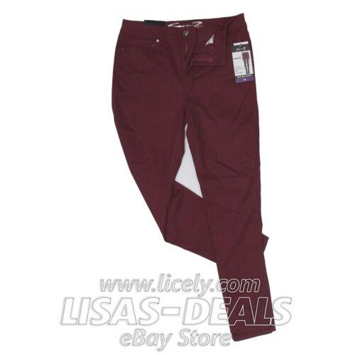 New Womens Seven7 High Rise Skinny Jeans Blue Denim Green Red 4 6 8 10 14 16