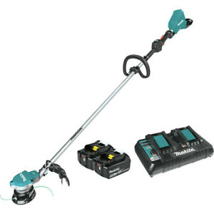 Makita-XRU15PT-18V-X2-36V-LXT-Li-Ion-BL-String-Trimmer-Kit-5-Ah-New