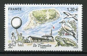 France-Stamps-2019-MNH-Ile-Tromelin-Island-Birds-Turtles-Architecture-1v-Set
