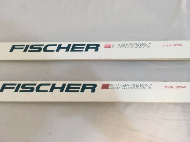 Cross Country Skis For Sale Ebay >> Fischer Crystal Crown White Crown Base Downhill Cross Country Skis 200 Cm