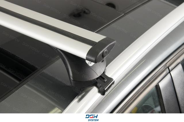 08-17 Aluminium Roof Bars  Pair Of Volvo Xc60