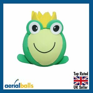 SALE-Frog-Prince-Charming-Green-Toad-Car-Aerial-Ball-Topper