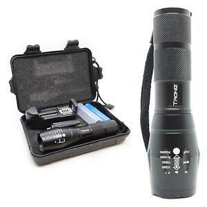 Tactical-CREE-LED-Flashlight-Camping-Hiking-Lamp-Bright-Outdoor-Light-w-SOS