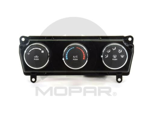 A//C and Heater Control Switch Mopar 55111952AE fits 09-10 Dodge Challenger