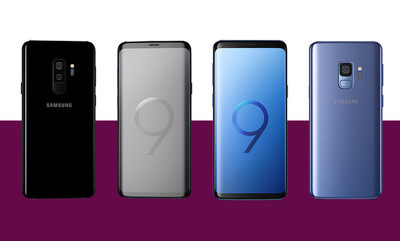 Upgrade to the New Samsung Galaxy S9 & S9+
