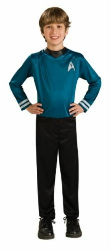 Star Trek Spock Fancy Dress Child Costume Boys Medium Height 127-137cm