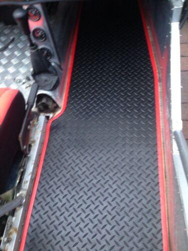 Goma Roja Coche Furgoneta Vehículo ajuste del borde interior VW Beetle Sello de remolque de barco