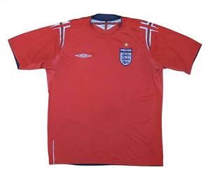 England 2004-06 Authentic Away Shirt (eccellente) L soccer jersey