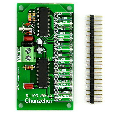 1/2048~2048Hz Extremely / Super Low Frequency Square Wave Oscillator Module