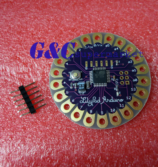 1PCS LilyPad Arduino 328P-AU Main Board NEW GOOD QUALITY M5
