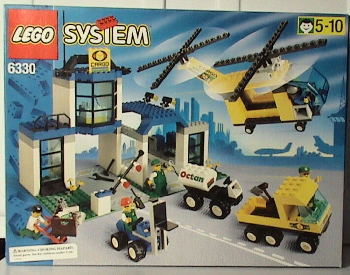Lego Town 6330 Cargo Center NEW SEALED