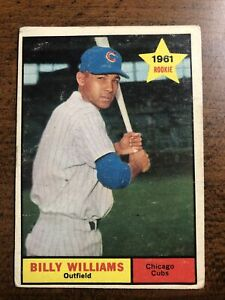 1961 Topps Billy Williams Rookie #141 Chicago Cubs HOF