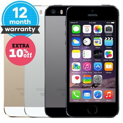 Apple iPhone 5s - 16GB 32GB 64GB - Unlocked SIM Free Smartphone Various Colours