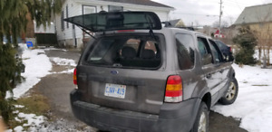 Ford Escape in pretty good shape runs good needs a little