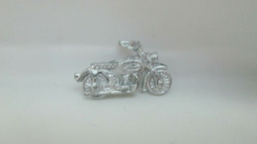 Dollhouse Miniature Unfinished Metal Toy Motorcycle