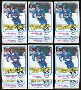 Lot of 12: 1981 Topps PETER STASTNY Rookie Cards #39 ~ NM-MT ~ NICE ~