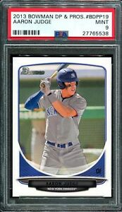 PSA-9-AARON-JUDGE-2013-BOWMAN-DRAFT-PICKS-19-YANKEES-ROOKIE-CARD-RC-MINT-QTY
