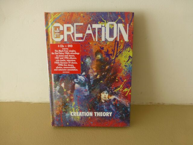 THE CREATION - CREATION THEORY (4CD + DVD SET) - THE MARK FOUR / EDDIE PHILLIPS