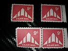 1971 C77 Delta Wing U.S. Air Mail 9cent Stamps