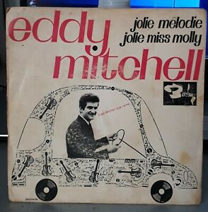EDDY-MITCHELL-JOLIE-MELODIE-RARE-DISQUE-PUBLICITAIRE-SHELL-FRENCH-7-034-SP