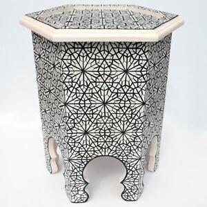 Marokkanischer Arabischer Teetisch Orientalische Beistelltisch