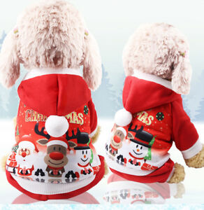 Christmas-Warm-Puppy-Small-Pet-Dog-Clothes-Hoodie-Coat-Costume-Winter-Apparel