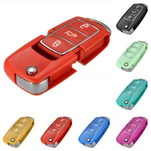 3-Tasti-Guscio-Rigido-Cover-Chiave-Telecomando-Per-Vw-Golf-Passat-Beetle