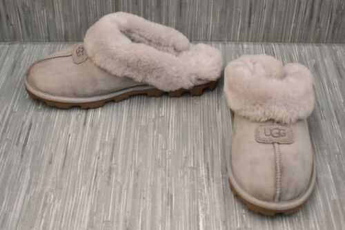 Ugg Coquette 5125 Slippers, Women's Size 10, Feath